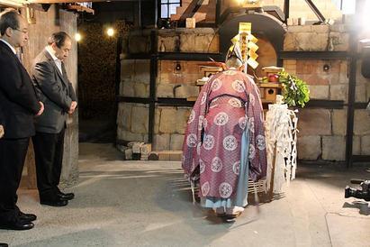 平成25年 今右衛門の初窯開き(2013年1月10日)
