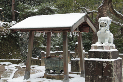 平成24年2月3日撮影 有田の雪景色
