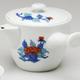 牡丹絵横手茶器